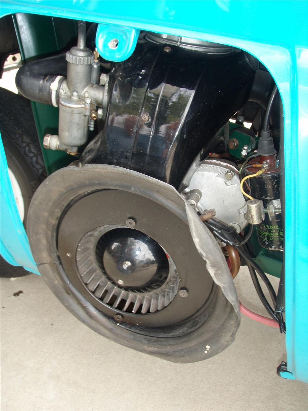 1957 BMW ISETTA 300 CONVERTIBLE - Engine - 81341