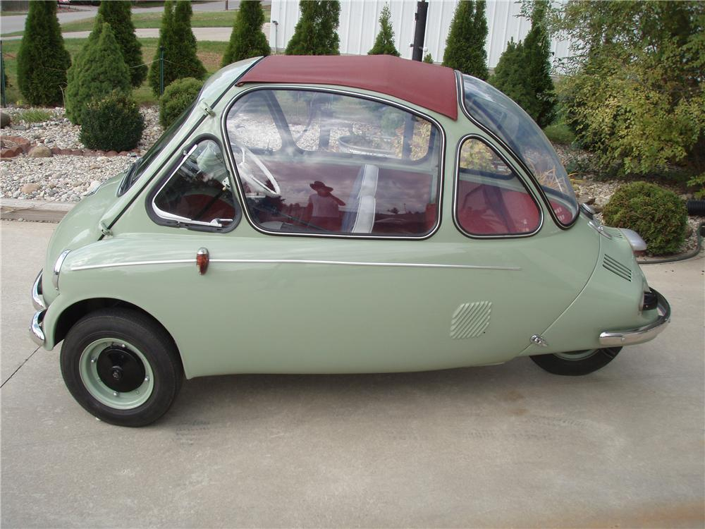 1962 HEINKEL TROJAN 200 COUPE - Side Profile - 81342