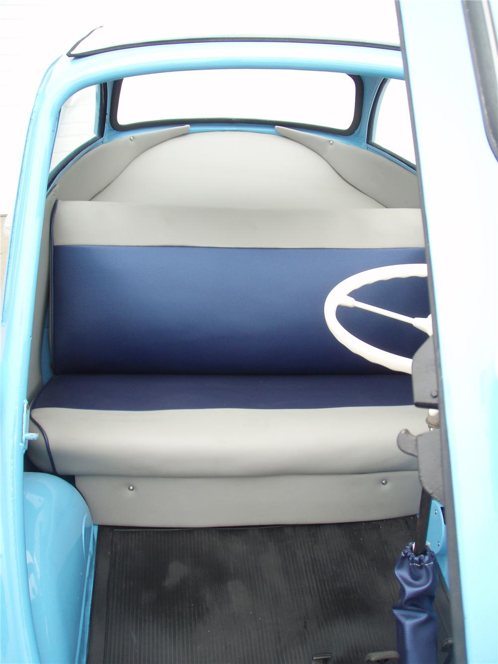 1957 BMW ISETTA 300 COUPE - Interior - 81343