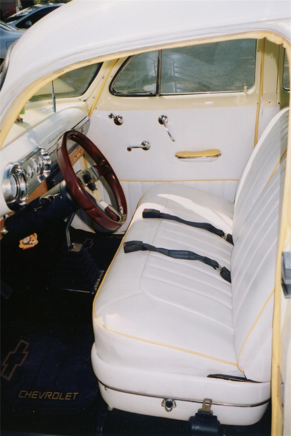 1953 CHEVROLET CUSTOM STATION WAGON - Interior - 81345