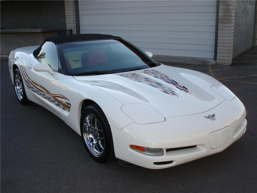 2003 CHEVROLET CORVETTE CONVERTIBLE - Front 3/4 - 81348