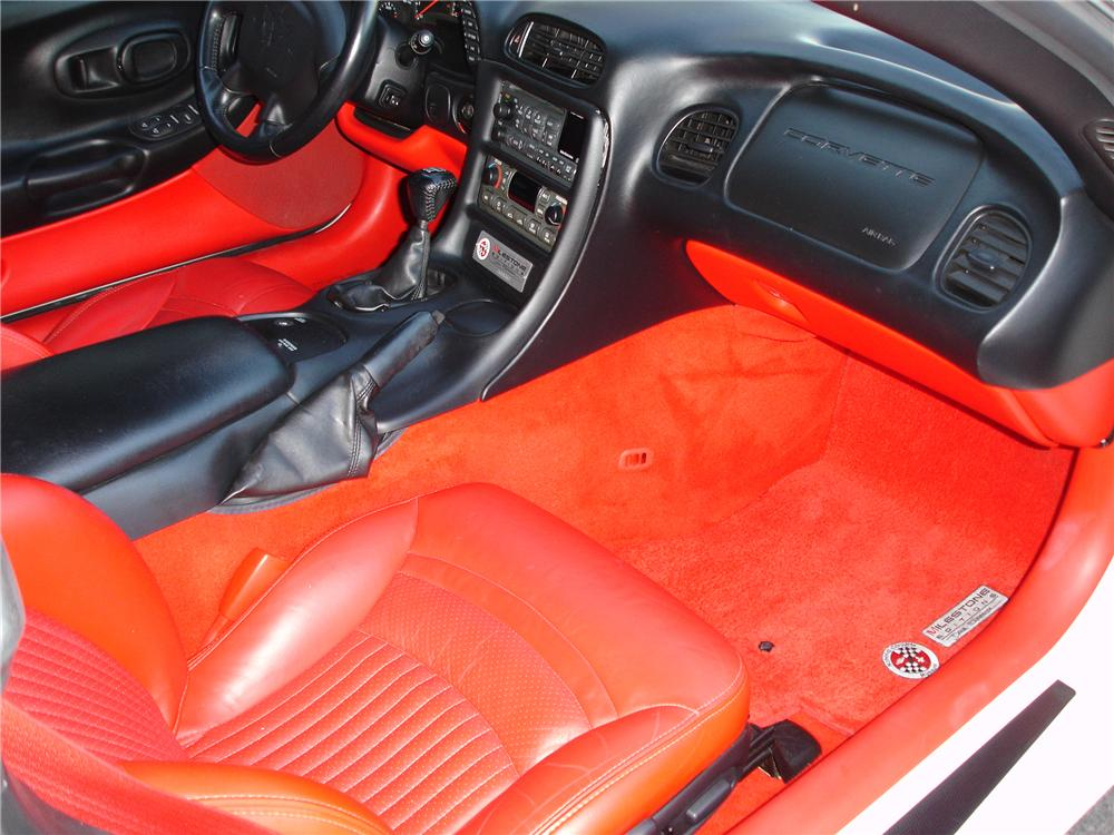 2003 CHEVROLET CORVETTE CONVERTIBLE - Interior - 81348