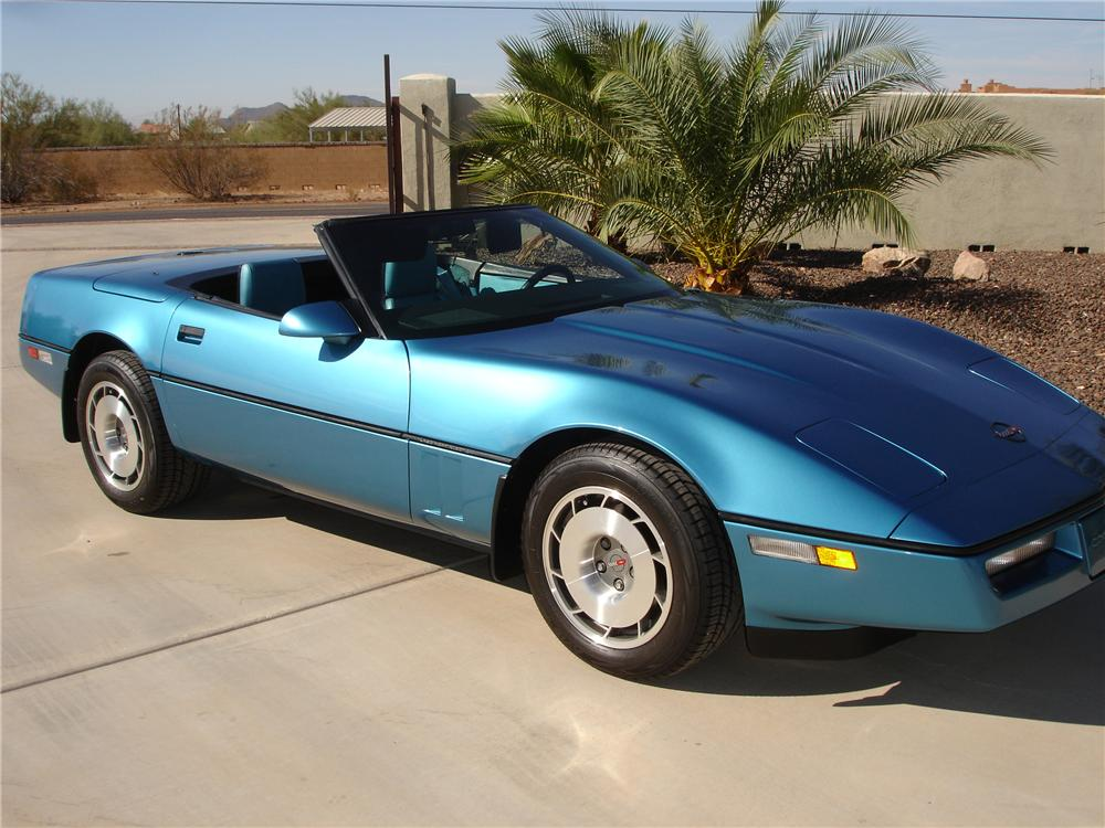 1987 chevrolet corvette convertible 81350. Black Bedroom Furniture Sets. Home Design Ideas