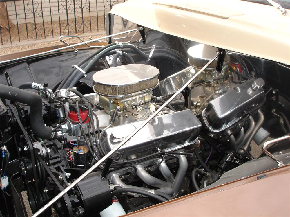 1955 FORD F-100 CUSTOM PICKUP - Engine - 81352
