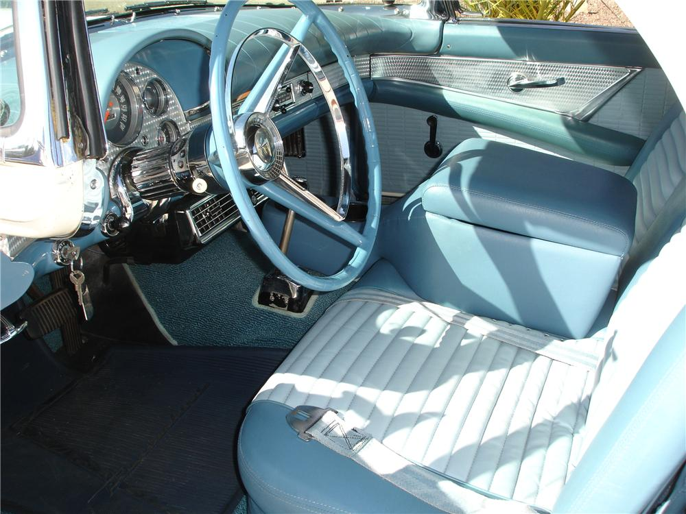 1957 FORD THUNDERBIRD CONVERTIBLE - Interior - 81353