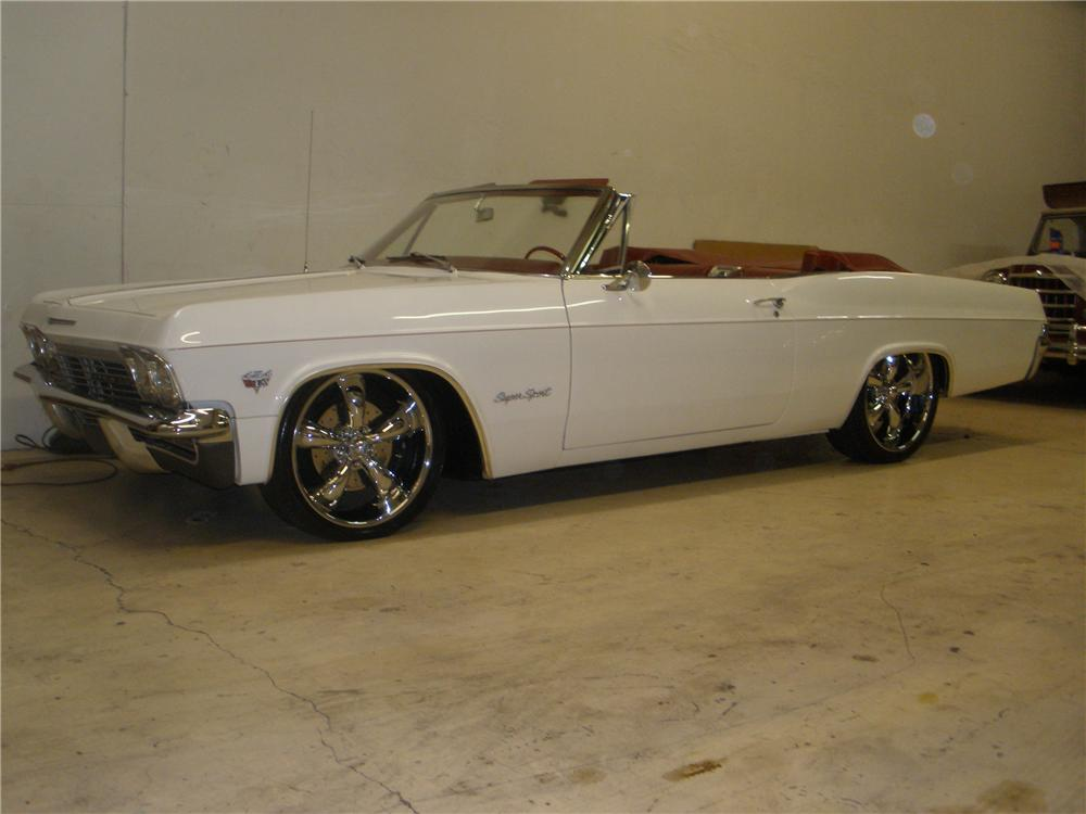 1965 CHEVROLET IMPALA SS CUSTOM CONVERTIBLE - Side Profile - 81356