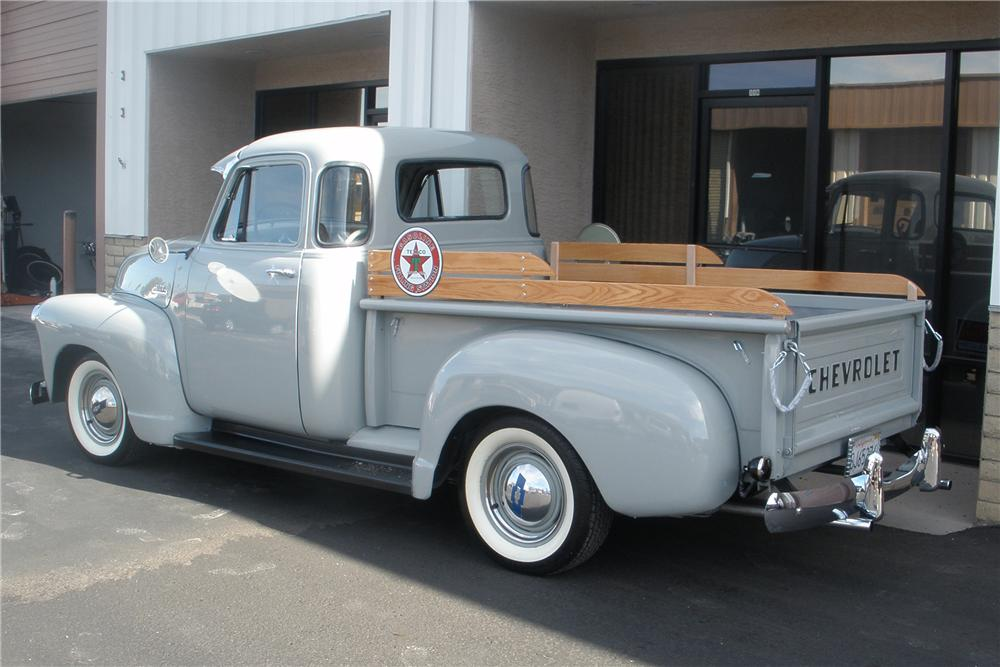 1954 CHEVROLET 3100 5 WINDOW PICKUP - Rear 3/4 - 81358