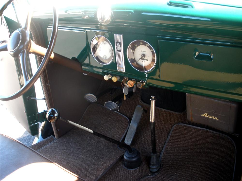 1937 PLYMOUTH PICKUP - Interior - 81360
