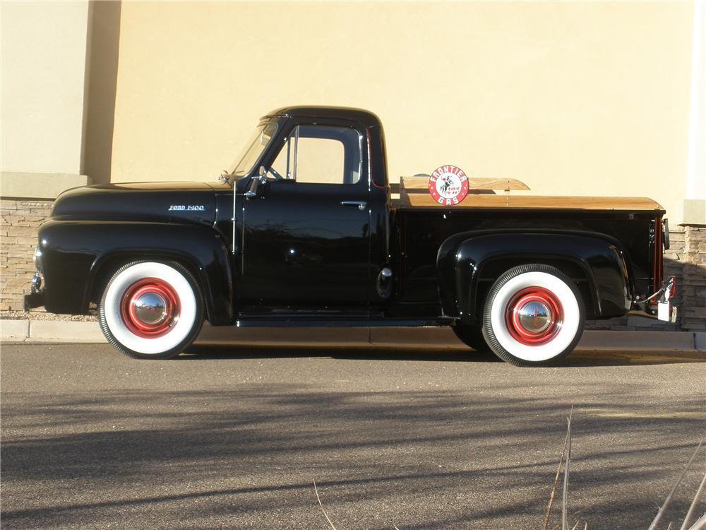 1954 FORD F-100 PICKUP - Side Profile - 81362