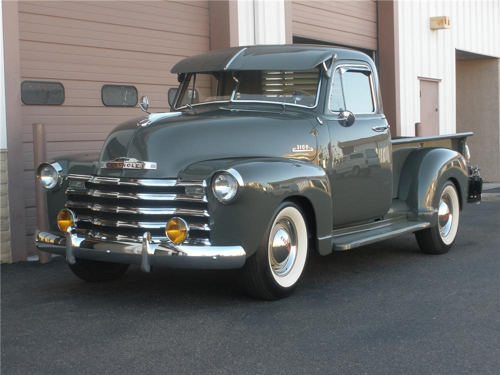 1953 CHEVROLET 3100 PICKUP - Front 3/4 - 81365