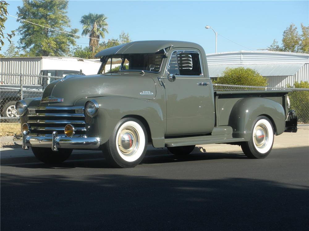 1953 CHEVROLET 3100 PICKUP - Side Profile - 81365