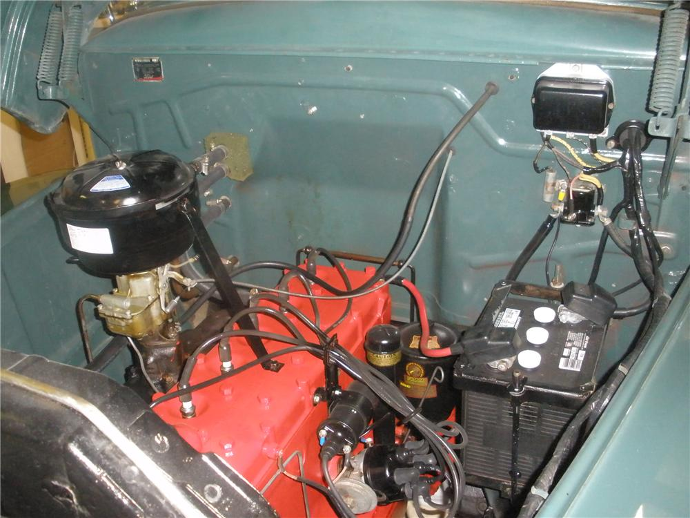 1949 FORD F-1 PANEL TRUCK - Engine - 81366