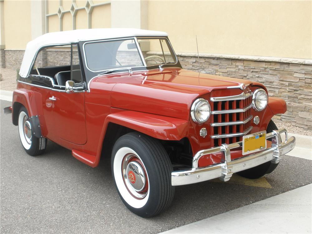 1951 WILLYS JEEPSTER CONVERTIBLE - Side Profile - 81370