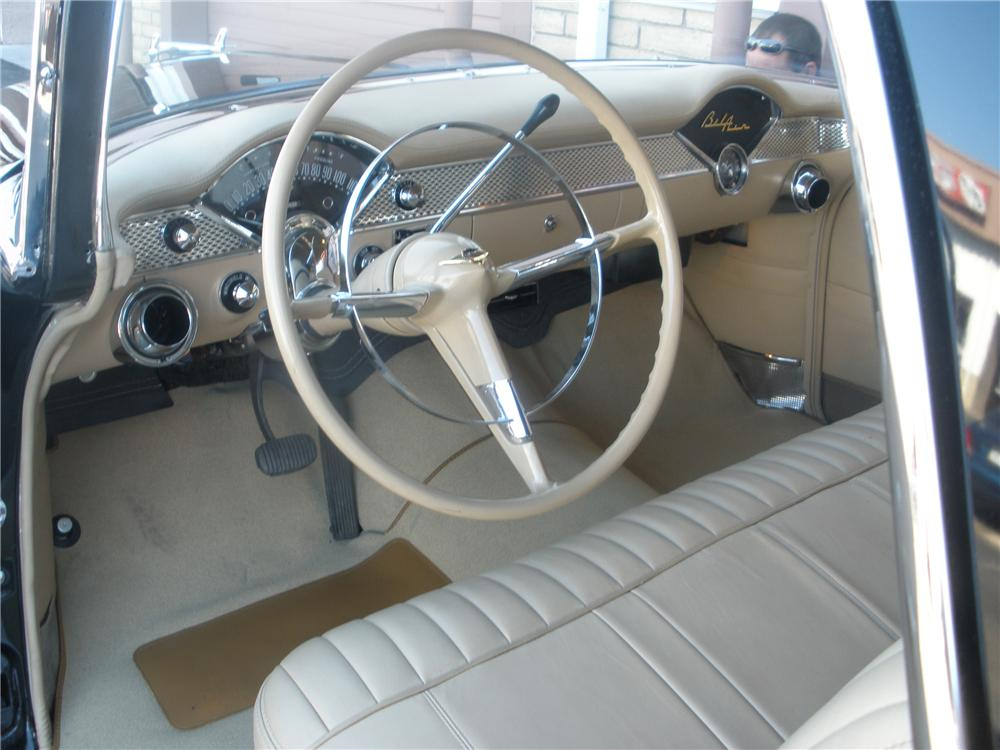 1955 CHEVROLET NOMAD CUSTOM WAGON - Interior - 81371