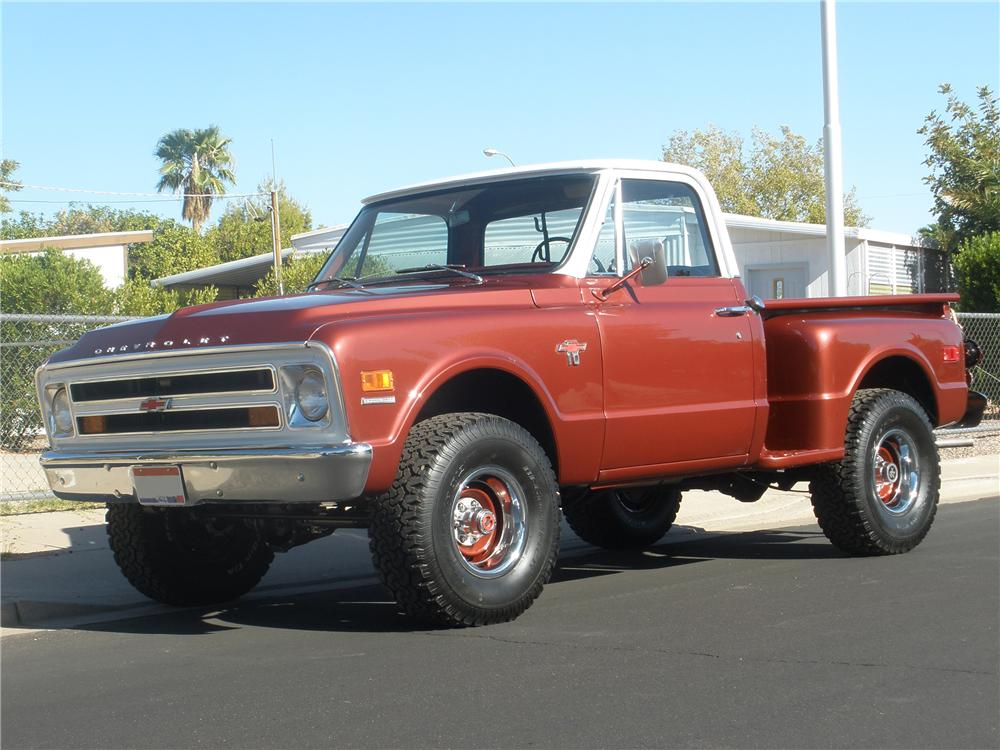 1968 CHEVROLET C-10 SHORTBOX PICKUP - Front 3/4 - 81372