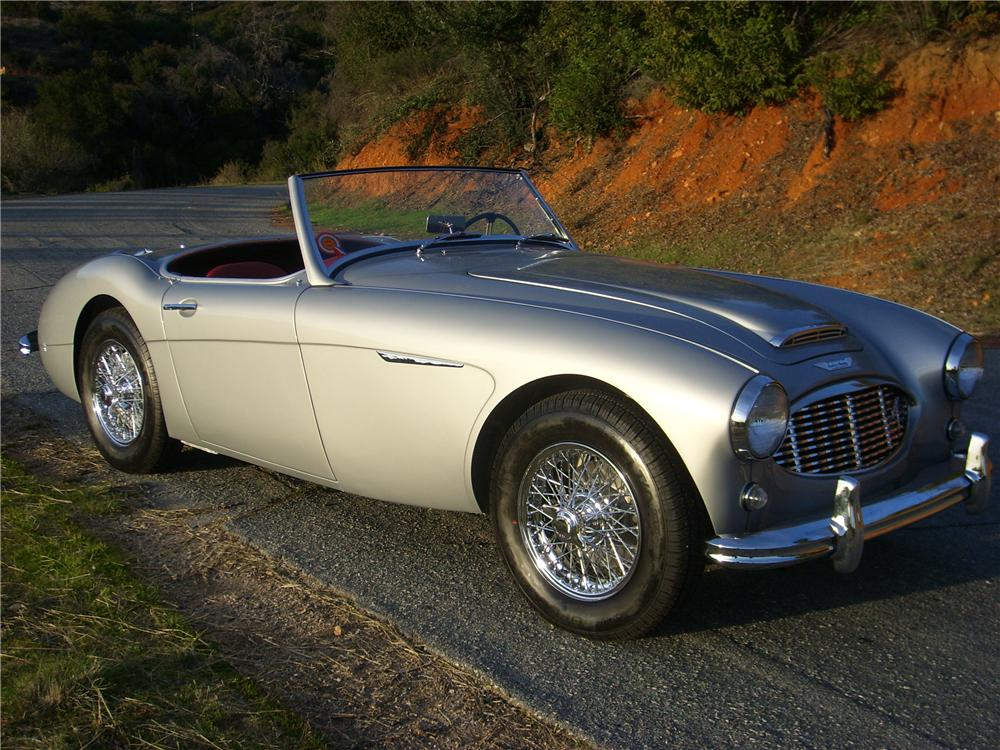 1960 AUSTIN-HEALEY 3000 MARK I BN7 ROADSTER - Front 3/4 - 81376