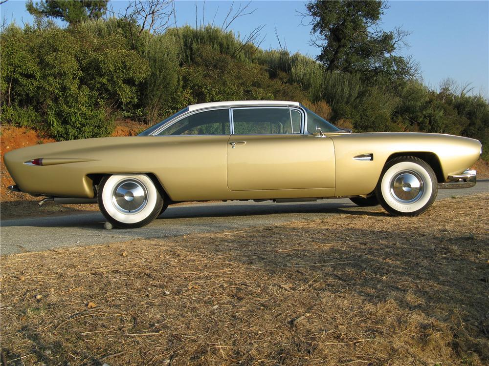1959 CADILLAC COUPE DE VILLE RAYMOND LOEWY CUSTOM - Side Profile - 81377