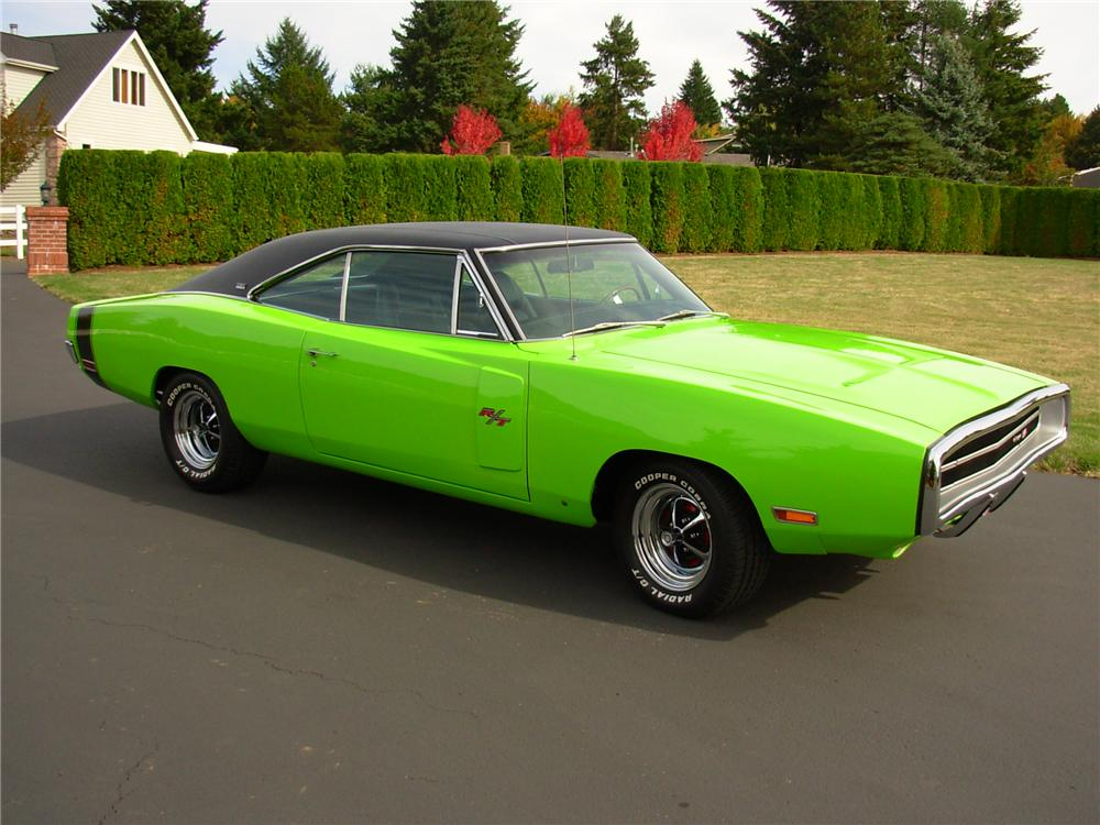 1970 DODGE CHARGER R/T 2 DOOR HARDTOP - Side Profile - 81378