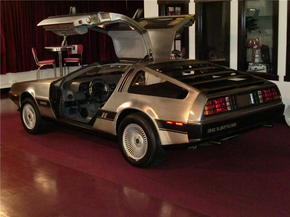 1981 delorean dmc 12 gullwing 81384. Black Bedroom Furniture Sets. Home Design Ideas