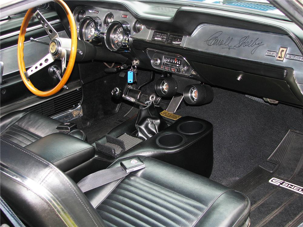 1967 FORD MUSTANG CUSTOM FASTBACK - Interior - 81393