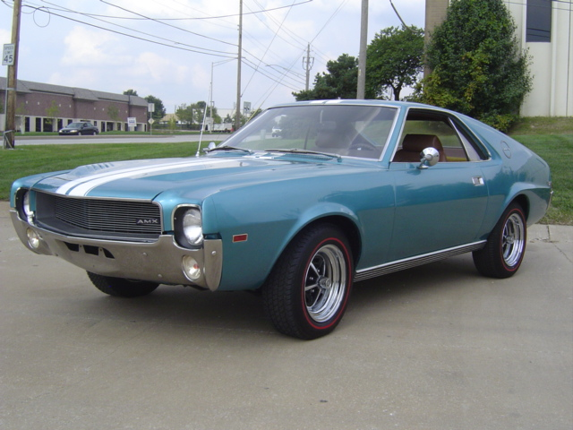 1969 AMERICAN MOTORS AMX 2 DOOR COUPE - Front 3/4 - 81395