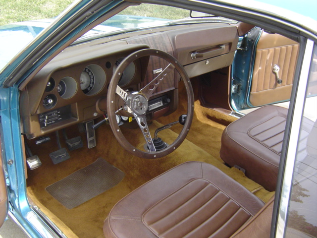 1969 AMERICAN MOTORS AMX 2 DOOR COUPE - Interior - 81395