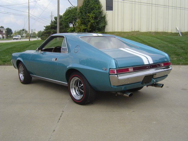 1969 AMERICAN MOTORS AMX 2 DOOR COUPE - Rear 3/4 - 81395