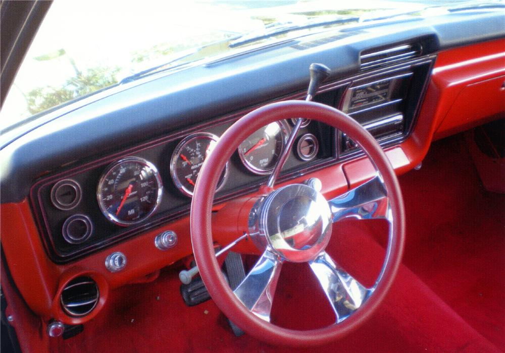1967 CHEVROLET BISCAYNE CUSTOM 2 DOOR SEDAN - Interior - 81399