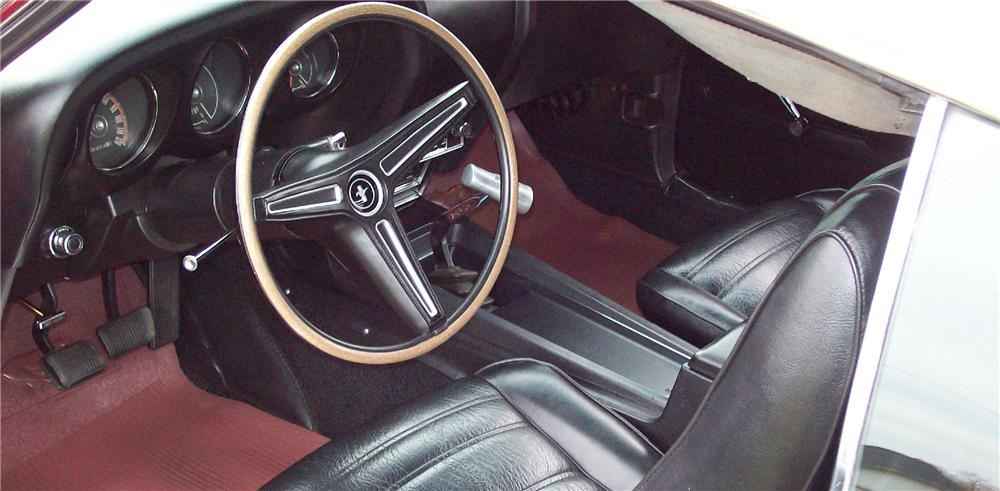 1970 FORD MUSTANG 428 CJ FASTBACK - Interior - 81404