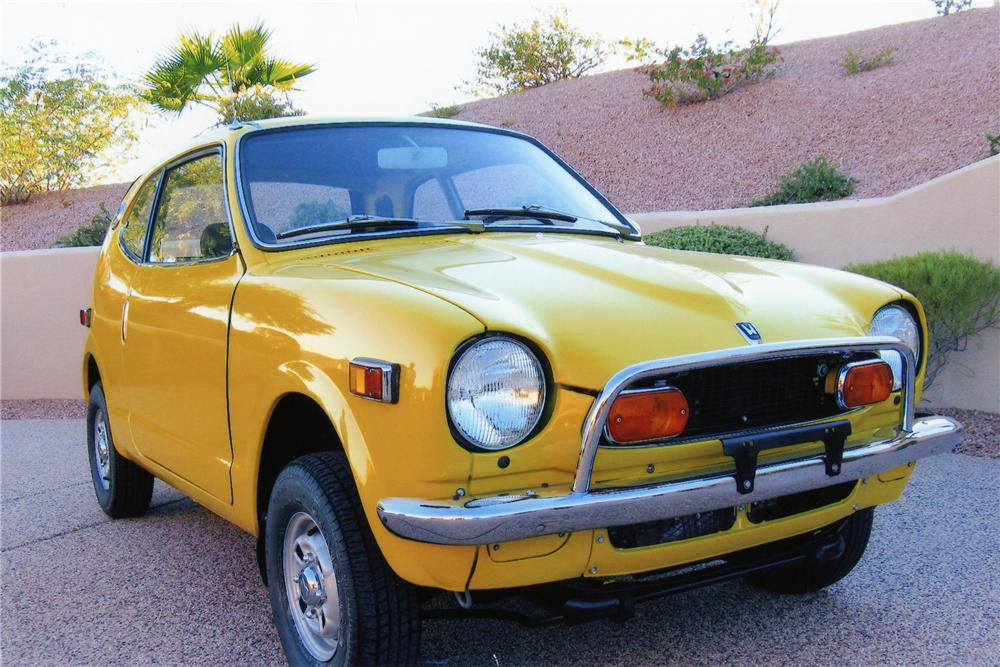1972 Honda Z600 Coupe Front 3 4 81406