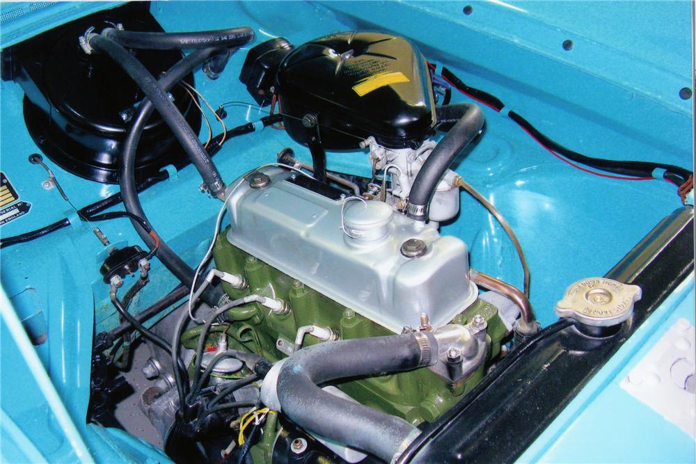 1961 NASH METROPOLITAN CONVERTIBLE - Engine - 81407