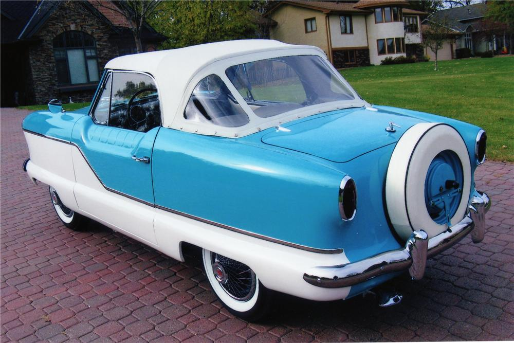 1961 NASH METROPOLITAN CONVERTIBLE - Rear 3/4 - 81407