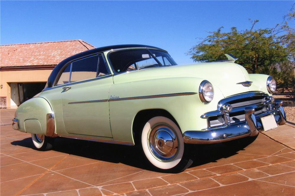 1950 CHEVROLET BEL AIR 2 DOOR HARDTOP - Front 3/4 - 81409