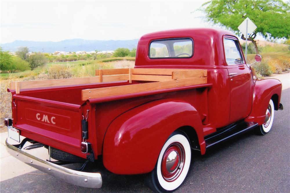 1948 GMC 1/2 TON PICKUP - Rear 3/4 - 81412