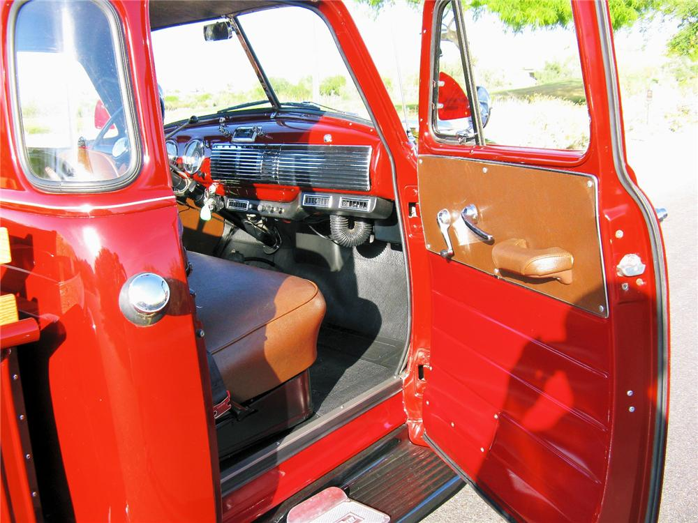 1953 CHEVROLET 3100 PICKUP - Interior - 81417