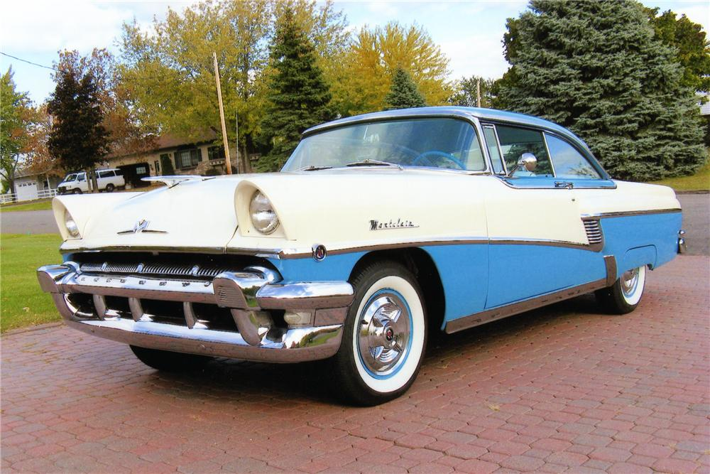 1956 MERCURY MONTCLAIR 2 DOOR HARDTOP - Front 3/4 - 81419