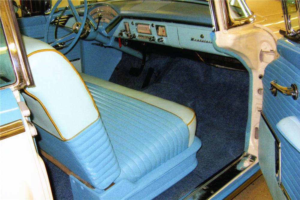 1956 MERCURY MONTCLAIR 2 DOOR HARDTOP - Interior - 81419