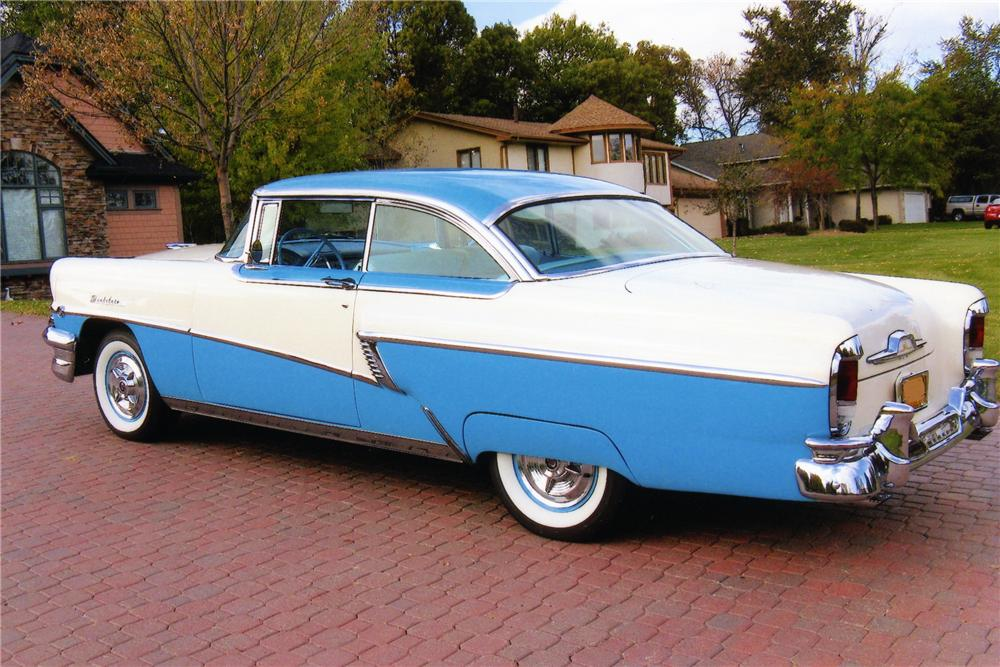 1956 MERCURY MONTCLAIR 2 DOOR HARDTOP - Rear 3/4 - 81419