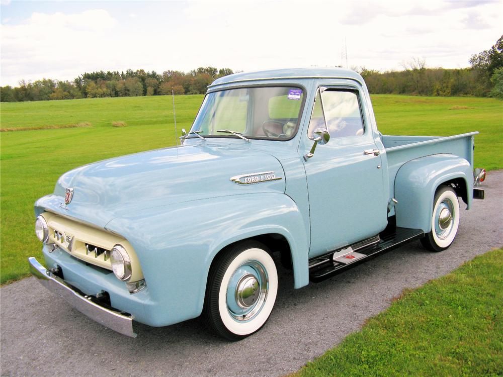 1953 FORD F-1 PICKUP - Front 3/4 - 81420