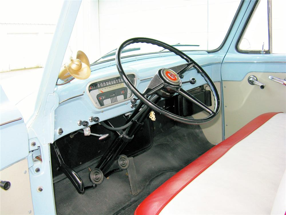 1953 FORD F-1 PICKUP - Interior - 81420