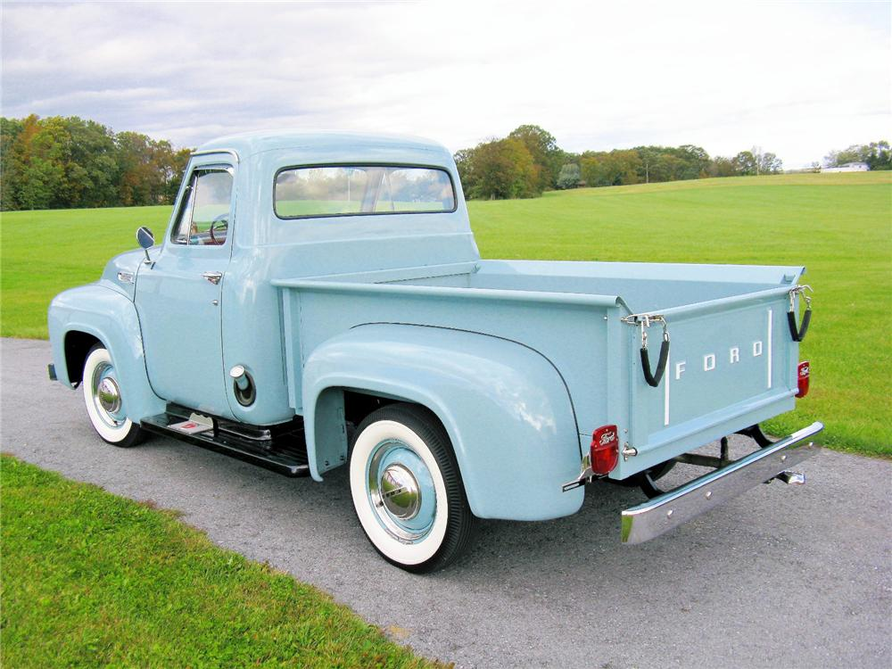 1953 FORD F-1 PICKUP - Rear 3/4 - 81420