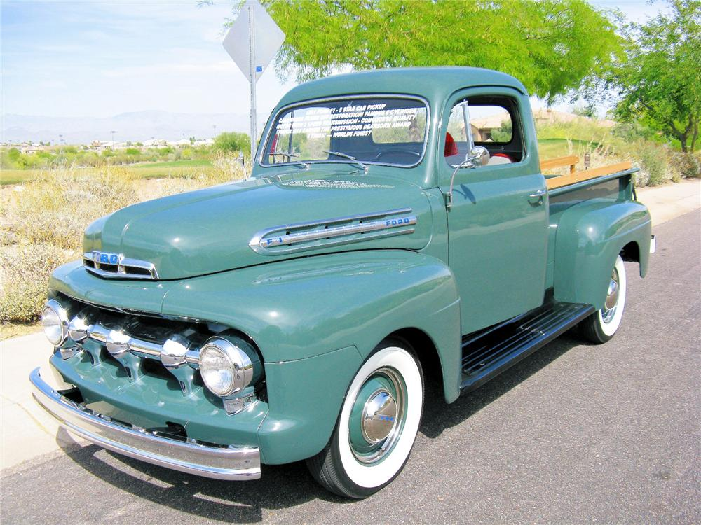 1951 FORD F-1 PICKUP - Front 3/4 - 81421