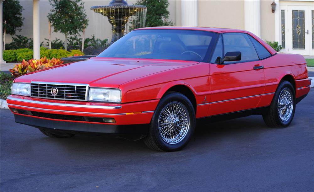 1989 Cadillac Allante 2 Door Convertible