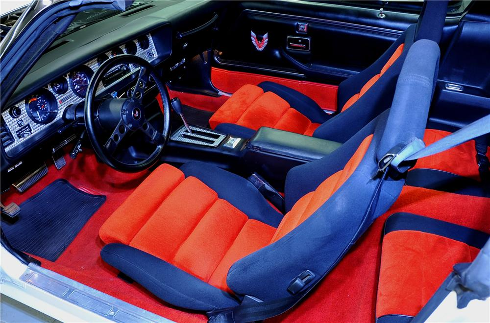 1981 PONTIAC FIREBIRD TRANS AM COUPE - Interior - 81431