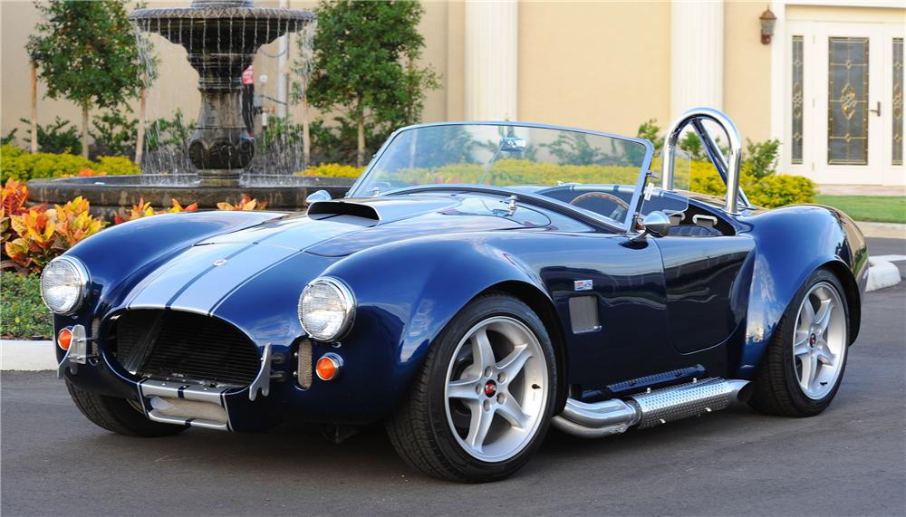2006 FACTORY FIVE SHELBY COBRA RE-CREATION ROADSTER - Front 3/4 - 81434