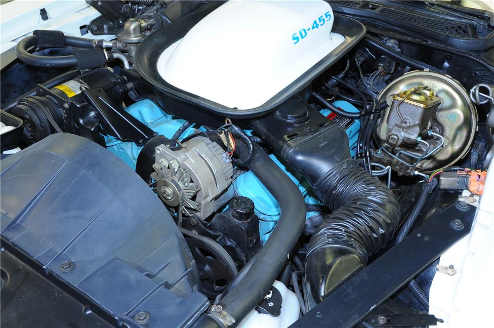 1974 PONTIAC FIREBIRD TRANS AM COUPE - Engine - 81438
