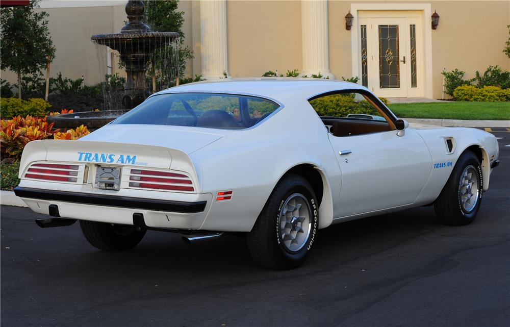 1974 PONTIAC FIREBIRD TRANS AM COUPE - Rear 3/4 - 81438