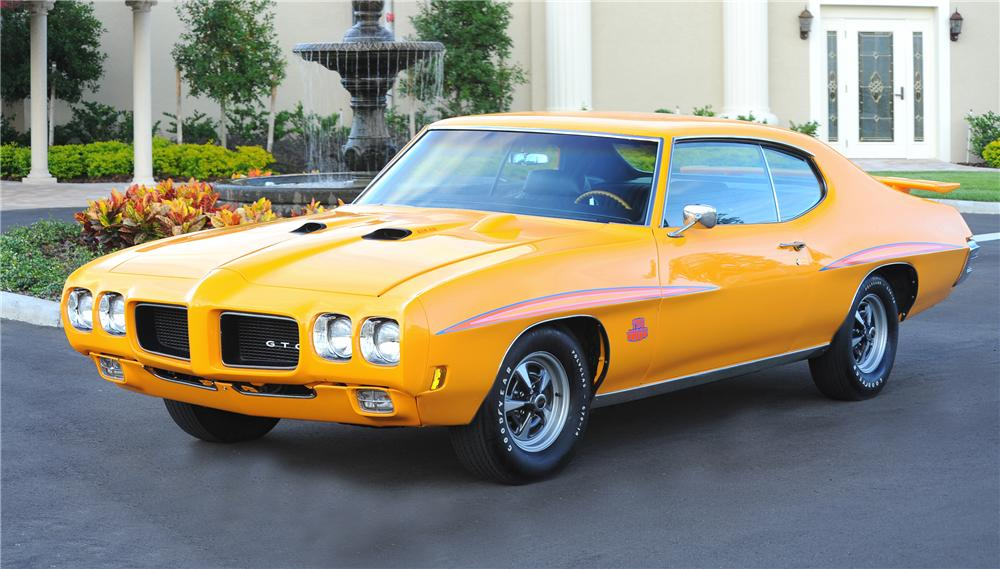 1970 PONTIAC GTO JUDGE 2 DOOR HARDTOP - Front 3/4 - 81441