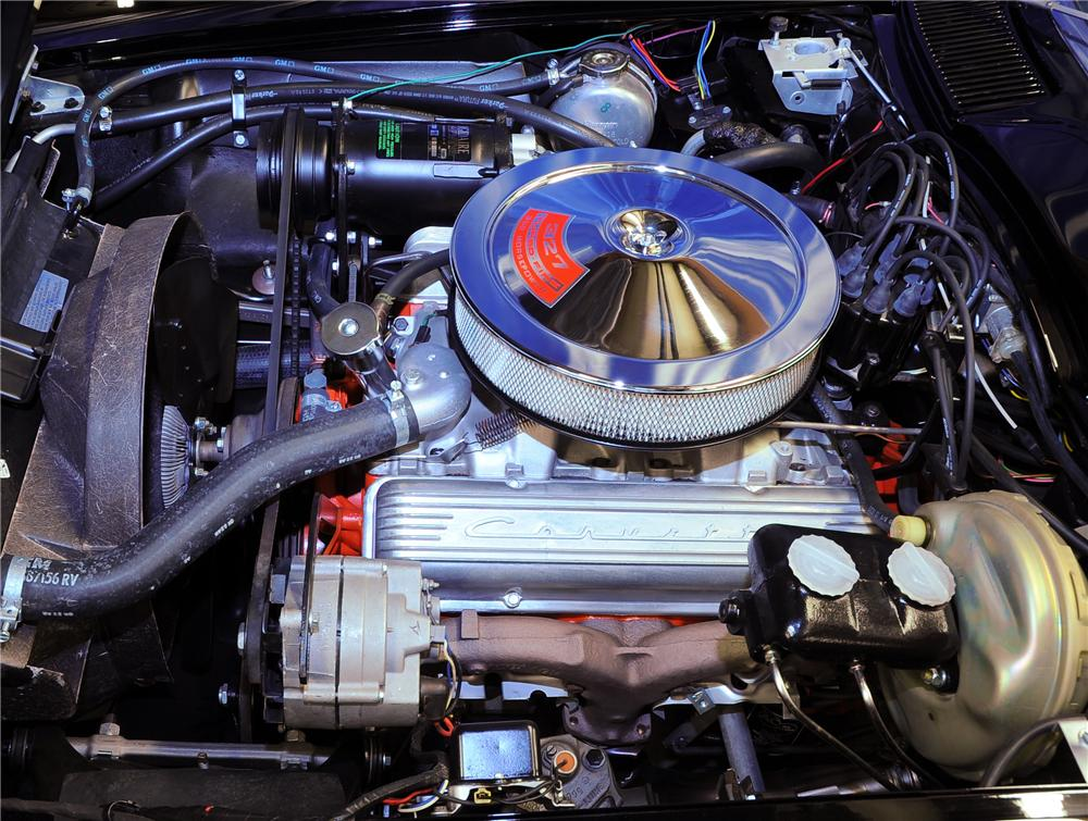 1966 CHEVROLET CORVETTE CONVERTIBLE - Engine - 81443