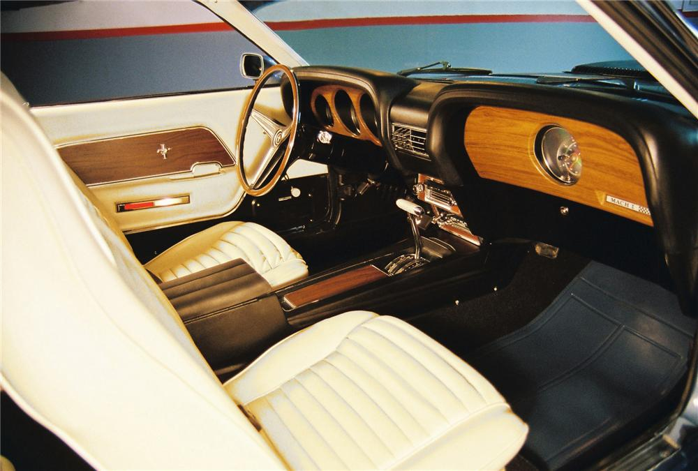 "1970 FORD MUSTANG 428 CJ ""R"" FASTBACK - Interior - 81446"